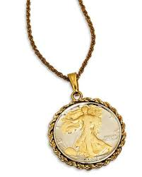 store necklace images Walking liberty half dollar necklace smithsonian store tif&a