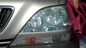 lexus rx300 towing 2003 rx 300 lexus headlight clean mothers plastic polish youtube