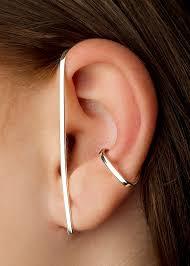 earrings app sterling silver 925 size app 4 5 x 1 5 cm bijou