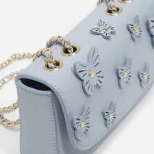 kids butterfly embellished sling bag shopperboard