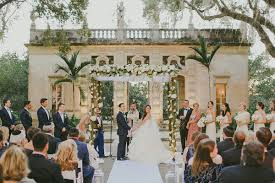 vizcaya wedding garden wedding at vizcaya floridian social