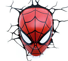 marvel 3d led light spiderman mask amazon uk kitchen u0026