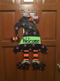 witch hat halloween wooden door hanger 2016 pinterest wooden