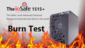 Iosafe Rugged Portable The Iosafe Fire And Water Test Will The Iosafe Solo G3 External