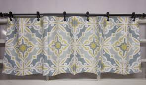 Blue Plaid Kitchen Curtains by Kitchen Noteworthy Yellow And Gray Chevron Kitchen Curtains