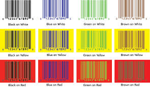 colors combinations tools barcode color guide bar code graphics