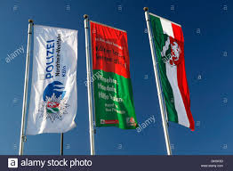 Icc Flag Three Flags Flying In A Blue Sky South African Flag Union Jack