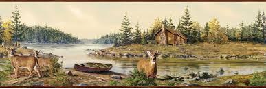 wallpaper deer and cabin wallpapersafari deer wallpaper border 2015 grasscloth wallpaper