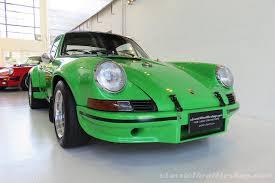 porsche 911 green porsche 911 rsr special viper green classic throttle shop
