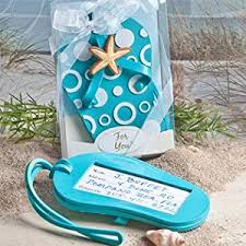 luggage tag favors flip flop luggage tag favors 48 home kitchen
