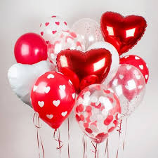 next day balloon delivery valentines balloon bouquet