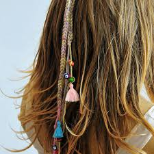 boho hair accessories shop bohemian crochet hair on wanelo