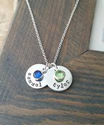 personalized jewelry for kids kids names necklace with personalized discs and