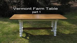 how to build make a dining table by jon peters part 1 youtube
