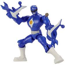 power rangers mixx morph mighty morphin blue ranger walmart