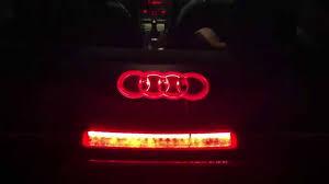 audi brake light audi badge 4d led brakelight