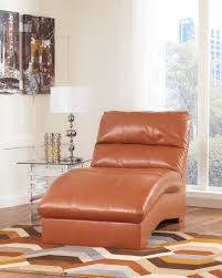 Benchcraft Leather Sofa by Orange Leather Couch Furniture Homesfeed