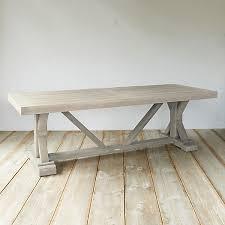 teak trestle dining table protected teak trestle dining table 8 terrain