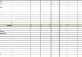 construction cost excel spreadsheet estimating software