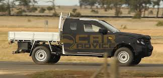 ford ranger t6 cab chassis spy photos