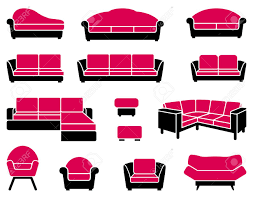 couch and sofas armchairs and sofas royalty free cliparts vectors and stock