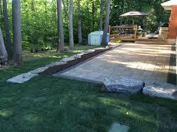 Yard Walkways Patios U0026 Walkways D U0026 R Landscape Group Niagara Falls U0026 St