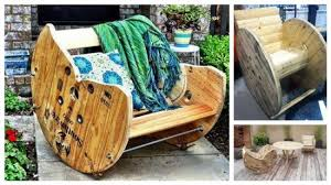 outdoor tables made out of wooden wire spools 15 diy wood wire spool furniture ideas and tutorials