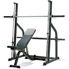 Home Gym Weight Bench Marcy Sm600 Smith Machine Home Gym U0026 Adjustable Weight Bench At