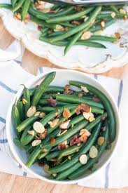 beans with almonds and bacon