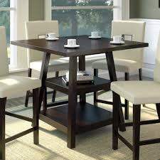 Red Barrel Studio Burgess Counter Height Dining Table  Reviews - Barrel kitchen table