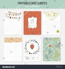 romantic love cards notes stickers labels stock vector 248294584