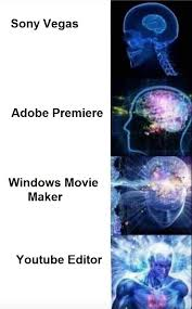 Picture Editor Meme - the best for video editing expanding brain know your meme