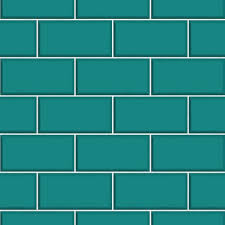 Tile Wallpaper Decor Teal Ceramica Subway Tile Wallpaper Plumbing