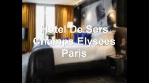hotel de sers champs elysees paris paris france 5 star hotel