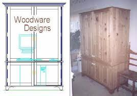 Armoire Furniture Plans Computer Armoire Plans Styles Yvotube Com