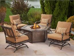 Patio Furniture Sets With Fire Pit by Furniture Mainstays 30 Inch Walmart Fire Pits In Black For Patio