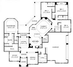 Ranch Style Home Blueprints 4 5 Bedroom One Story House Plan With Exercise Room Office
