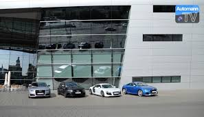 european delivery audi picking up the audi factory delivery neckarslum 60fps