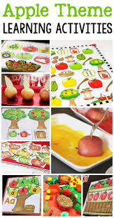 216 best pre k apple theme images on pinterest preschool