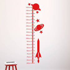 space rockets kids height chart by mirrorin notonthehighstreet com space rockets kids height chart