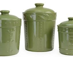 green canister sets kitchen kitchen signature housewares sorrento ceramic oregano