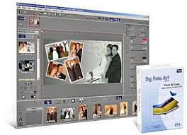 album design software dg photo gold for window digital album image editing
