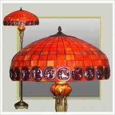 Tiffany Floor Lamp Shades Stained Glass Floor Lamp Foter
