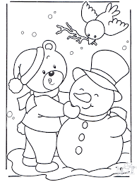 winter colouring sheets toddlers 67 coloring pages