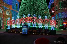 toy soldiers at base of christmas tree osborne family spectacle