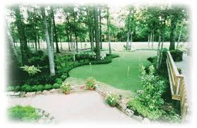 Putting Green In Backyard by Golf Kingwood Texas Offers Custom Putting Green Installation In