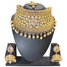 broad choker necklace set at rs 3200 designer necklace