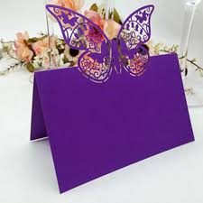 Butterfly Table Centerpieces by Online Get Cheap Purple Place Card Aliexpress Com Alibaba Group