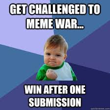 Win Kid Meme - get challenged to meme war win after one submission success
