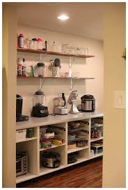 Open Shelves In Kitchen by Adding Open Shelving In The Pantry Pantry Open Shelving And